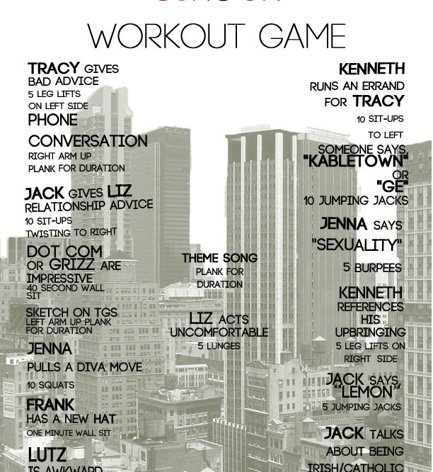 Workout Games: 30 Rock Your Workout!